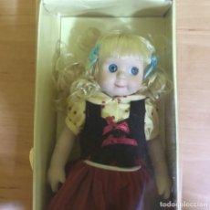 Muñecas Porcelana: MUÑECA VINTAGE AÑOS 60 DE SUAVE PORCELANA IMITANDO MUÑECOS GOOGLY. Lote 221974955