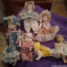 Muñecas Porcelana: 6 6 MUÑECAS DE PORCELANAS EN FOTOS. Lote 222295035