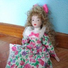 Muñecas Porcelana: MUÑECA DE PORCELANA 29 CM. Lote 222468935