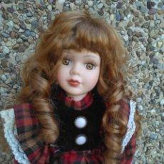 Muñecas Porcelana: PRECIOSA MUÑECA DE PORCELANA 38 CM APROXIDAMENTE. Lote 222816905