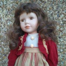 Muñecas Porcelana: PRECIOSA MUÑECA DE PORCELANA. Lote 222835673