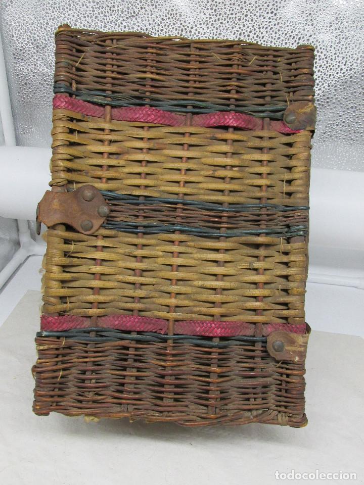 Muñecas Porcelana: Muñeca Grace S. Putnam con cesta y ropaje original de la época. - Foto 5 - 223625986