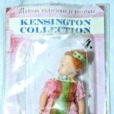 Muñecas Porcelana: MUÑECA VICTORIANA DE PORCELANA Nº4 LA ELEGANTE BURGUESA KENSIGTON COLLECTION NUEVA EMPAQUE SELLADO*. Lote 224461656