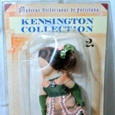 Muñecas Porcelana: MUÑECA VICTORIANA DE PORCELANA Nº 2 LA RICA HEREDERA KENSIGTON COLLECTION NUEVA EMPAQUE SELLADO*. Lote 224462312
