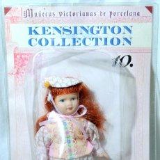 Muñecas Porcelana: MUÑECA VICTORIANA DE PORCELANA Nº 10 LA HIJA DE LA BURGUESA KENSIGTON COLLECTION, NUEVA SELLADO*. Lote 224462555