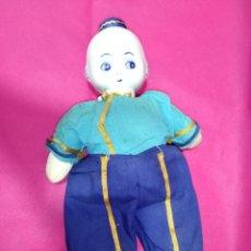 Muñecas Porcelana: MUÑECO CHINO PORCELANA 30 CENTIMETROS. Lote 224635241