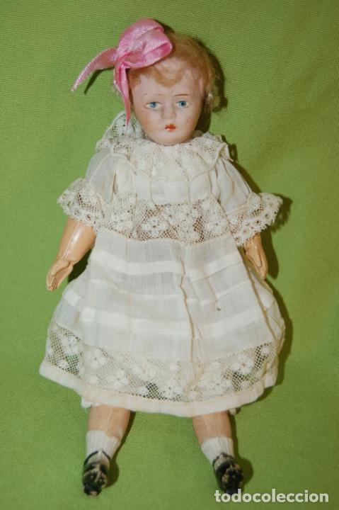 Muñecas Porcelana: muñeca inglesa DPC24 - Foto 2 - 224836300