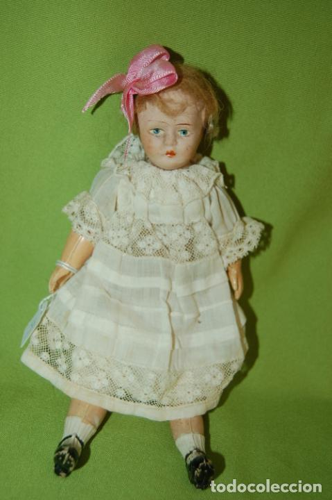 Muñecas Porcelana: muñeca inglesa DPC24 - Foto 5 - 224836300
