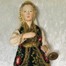 Muñecas Porcelana: MUÑECA GRIEGA 33 CM PORCELANA VINTAGE. Lote 226851485