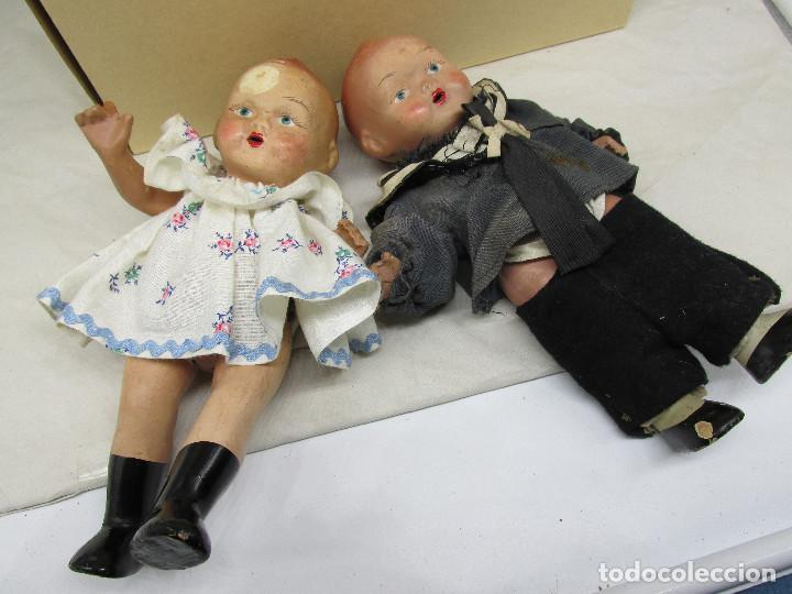 Muñecas Porcelana: Muñecas antiguas de porcelana años 20, se venden juntas. - Foto 3 - 227220565