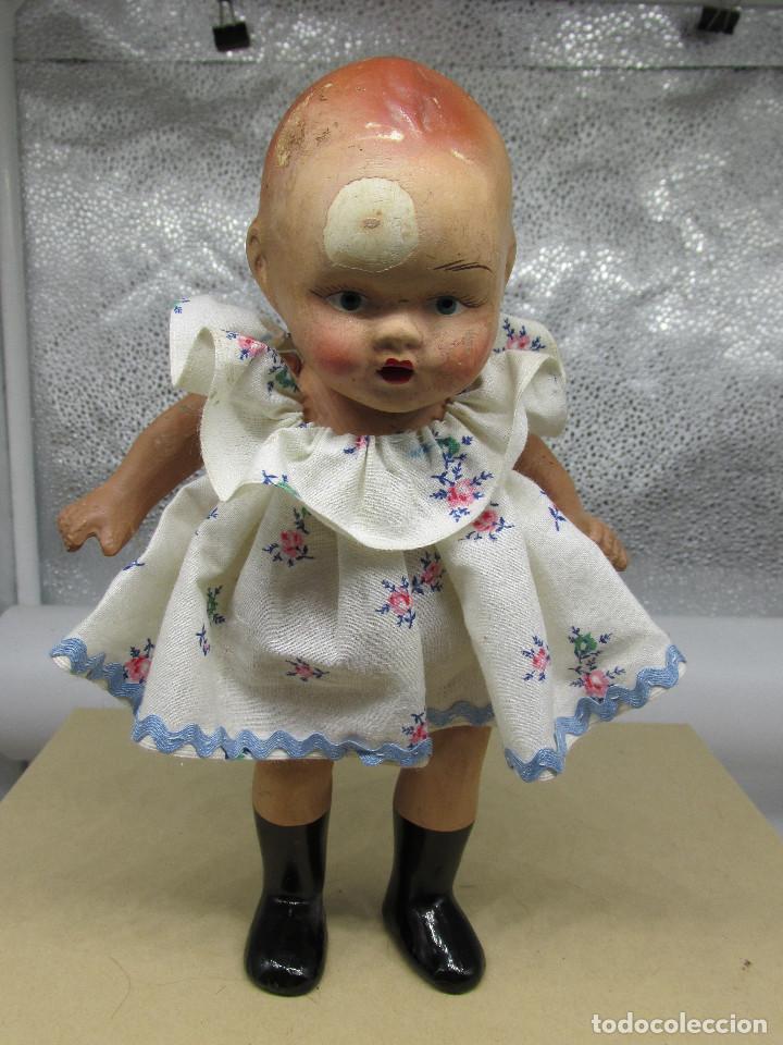 Muñecas Porcelana: Muñecas antiguas de porcelana años 20, se venden juntas. - Foto 5 - 227220565