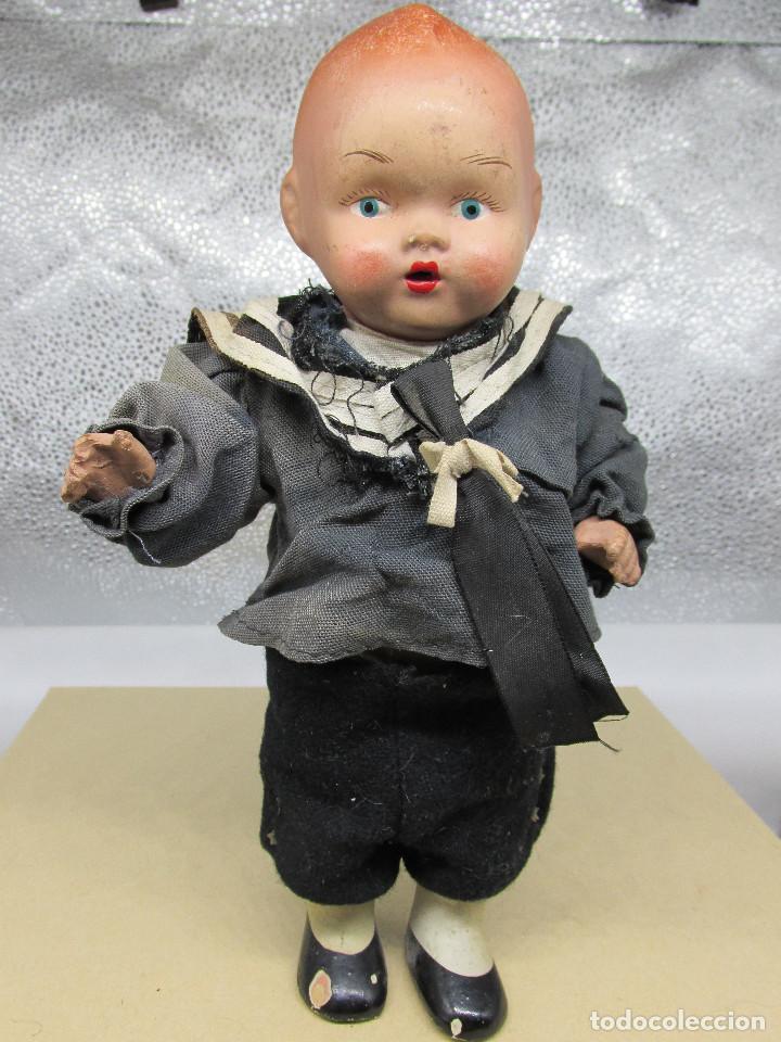 Muñecas Porcelana: Muñecas antiguas de porcelana años 20, se venden juntas. - Foto 13 - 227220565