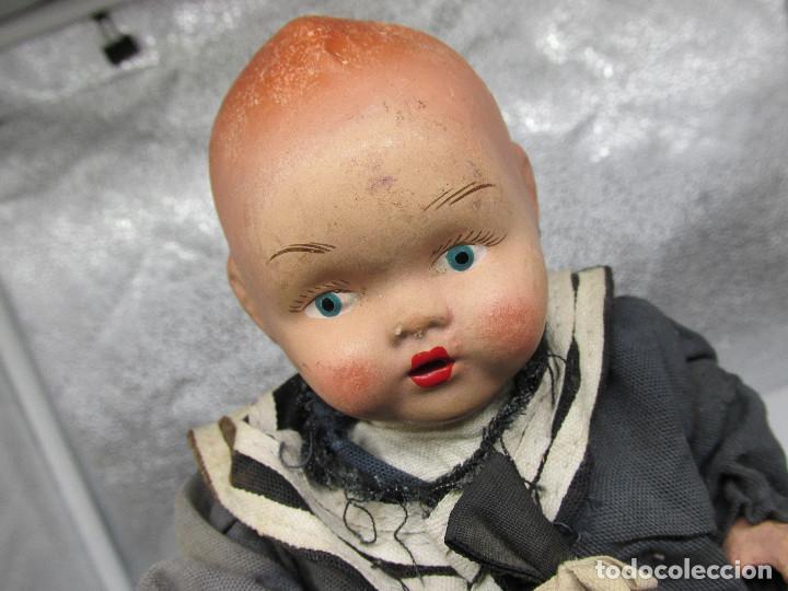 Muñecas Porcelana: Muñecas antiguas de porcelana años 20, se venden juntas. - Foto 14 - 227220565