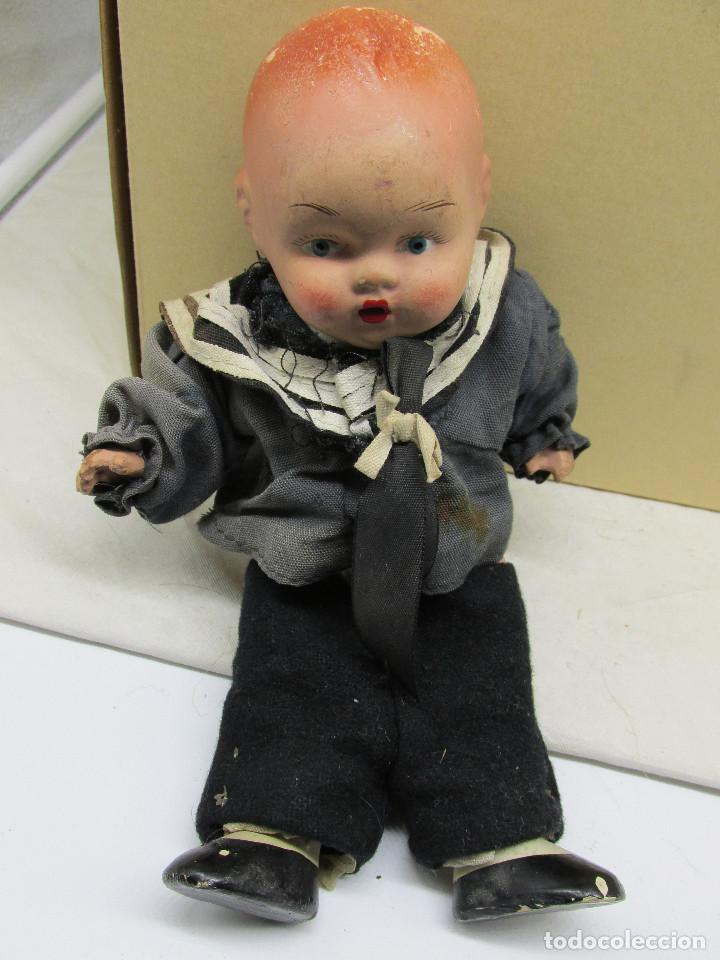 Muñecas Porcelana: Muñecas antiguas de porcelana años 20, se venden juntas. - Foto 20 - 227220565