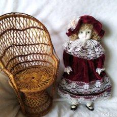 Muñecas Porcelana: MUÑECA PORCELANA ANTIGUA.. Lote 227814695