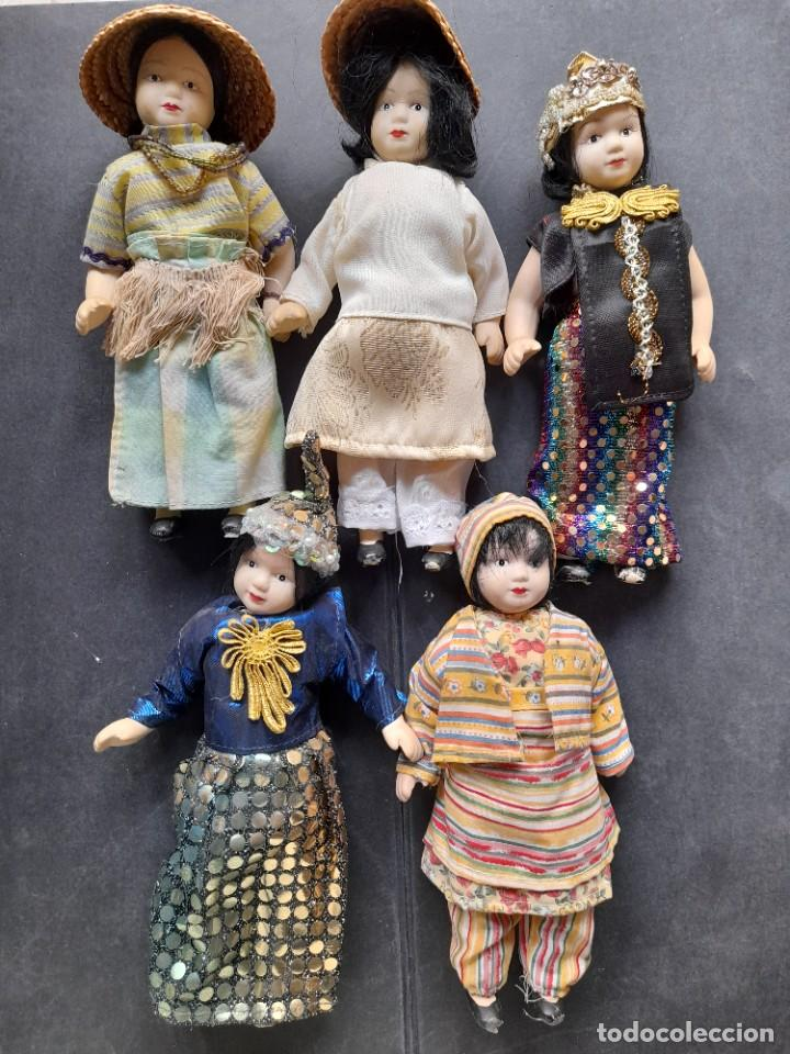 MUÑECAS DEL MUNDO RBA PORCELANA (Juguetes - Muñeca Extranjera Moderna - Porcelana)