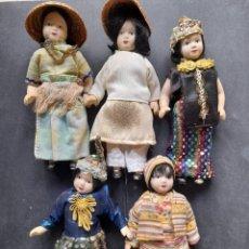 Muñecas Porcelana: MUÑECAS DEL MUNDO RBA PORCELANA. Lote 225474658