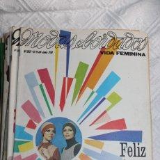 Poupées Porcelaine: REVISTA MODA Y BORDADOS 1969. Lote 228763475