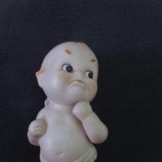 Muñecas Porcelana: MUÑECO KEWPIE BISCUIT PORCELANA LEFTON (JAPON) ALTO 13 CM APROX. Lote 229295965