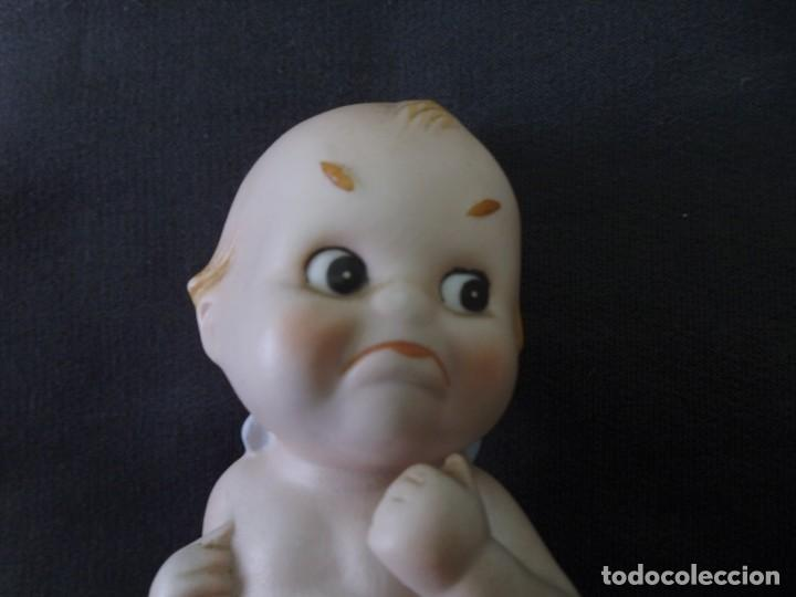 Muñecas Porcelana: MUÑECO KEWPIE BISCUIT PORCELANA LEFTON (JAPON) ALTO 13 CM APROX - Foto 2 - 229295965