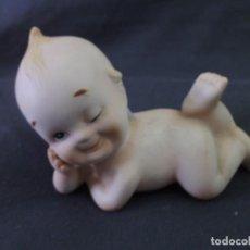 Muñecas Porcelana: MUÑECO KEWPIE BISCUIT PORCELANA LEFTON (JAPON) 11 X 11 CM APROX. Lote 229296265