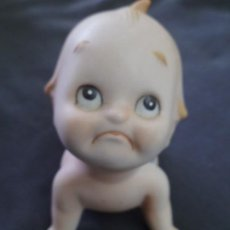 Muñecas Porcelana: MUÑECO KEWPIE BISCUIT PORCELANA LEFTON (JAPON) 11 X 11 CM APROX. Lote 229296340
