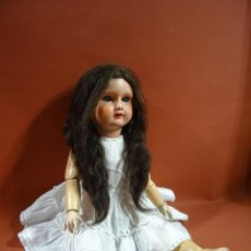 Bonecas Porcelana: MUÑECA PARA REPUESTOS DE PRINCIPIOS DEL SIGLO XX. Lote 229998050