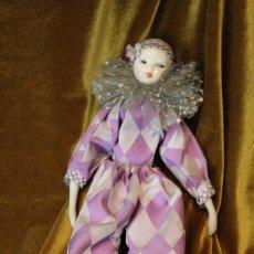 Muñecas Porcelana: ARLEQUÍN, PORCELANA Y TELA, 41 CM. Lote 231654985