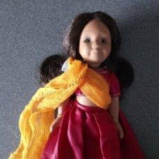 Muñecas Porcelana: MUÑECA DE PORCELANA INDIA. Lote 232417732