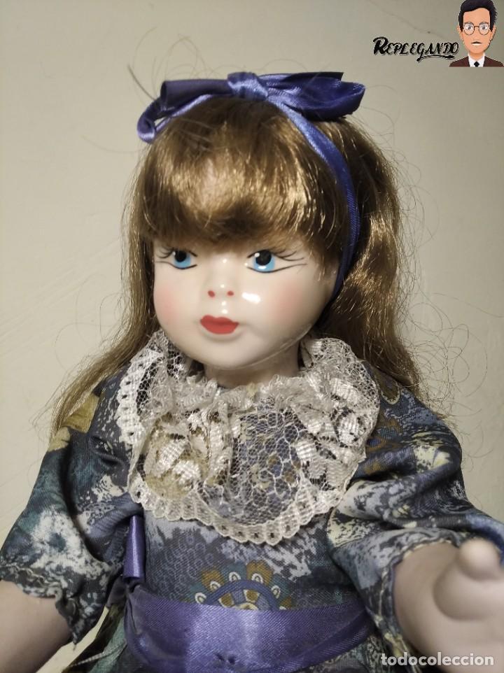 Muñecas Porcelana: PRECIOSA MUÑECA DE PORCELANA (AÑOS 90) 39 CM ALTO - Foto 2 - 233167685
