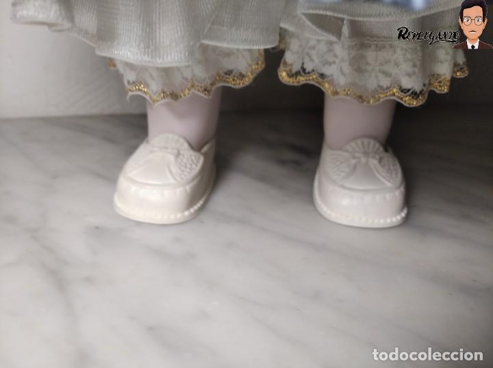 Muñecas Porcelana: PRECIOSA MUÑECA DE PORCELANA (AÑOS 90) 39 CM ALTO - Foto 5 - 233167685