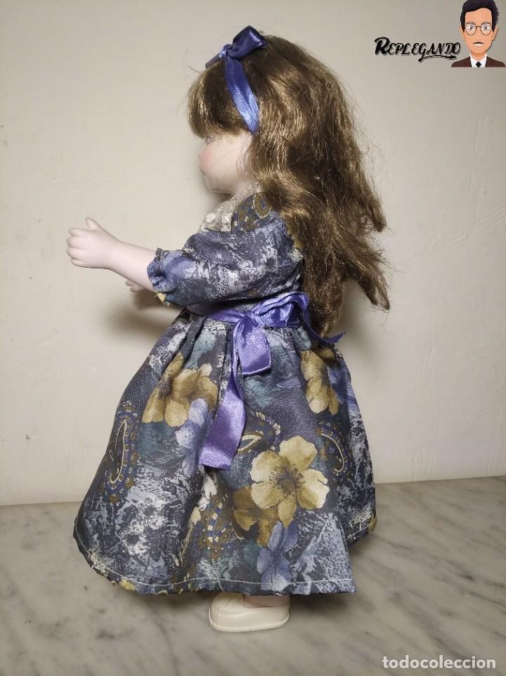 Muñecas Porcelana: PRECIOSA MUÑECA DE PORCELANA (AÑOS 90) 39 CM ALTO - Foto 6 - 233167685