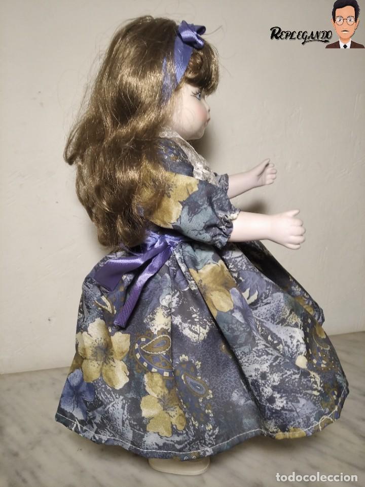 Muñecas Porcelana: PRECIOSA MUÑECA DE PORCELANA (AÑOS 90) 39 CM ALTO - Foto 9 - 233167685