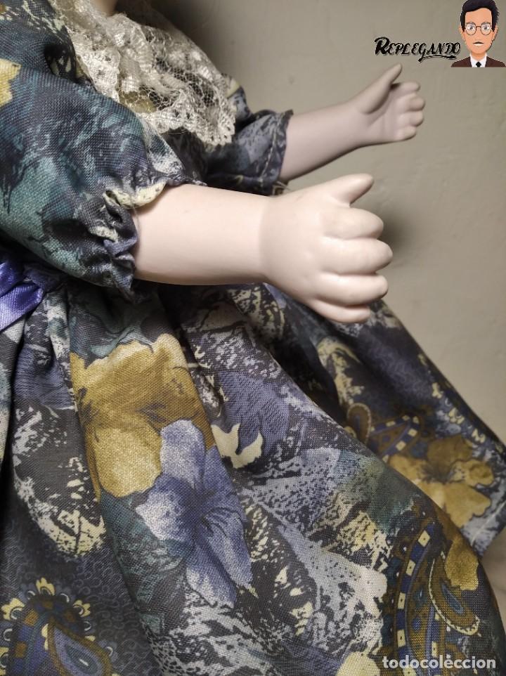 Muñecas Porcelana: PRECIOSA MUÑECA DE PORCELANA (AÑOS 90) 39 CM ALTO - Foto 10 - 233167685