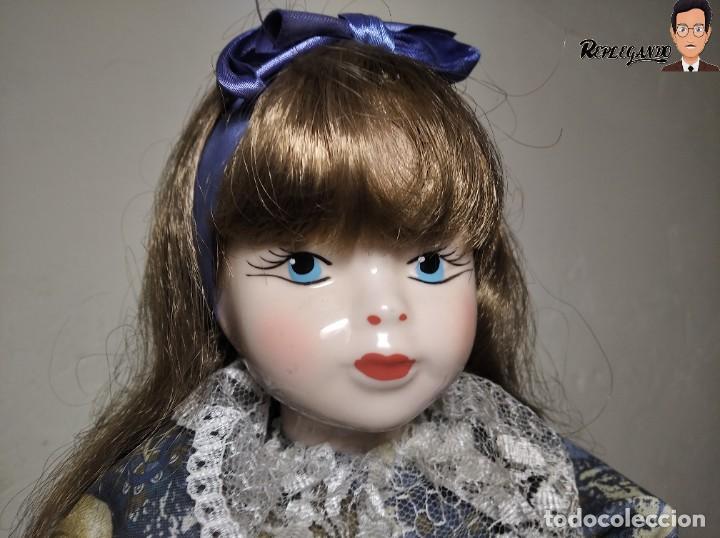 Muñecas Porcelana: PRECIOSA MUÑECA DE PORCELANA (AÑOS 90) 39 CM ALTO - Foto 11 - 233167685