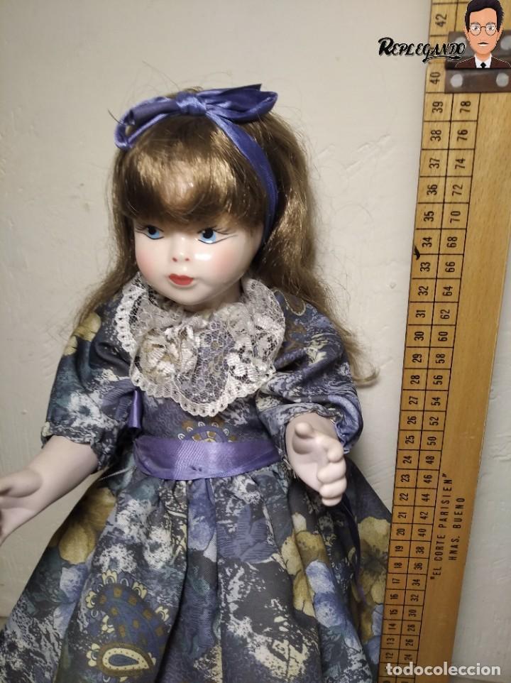 Muñecas Porcelana: PRECIOSA MUÑECA DE PORCELANA (AÑOS 90) 39 CM ALTO - Foto 13 - 233167685