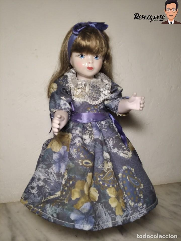 Muñecas Porcelana: PRECIOSA MUÑECA DE PORCELANA (AÑOS 90) 39 CM ALTO - Foto 15 - 233167685