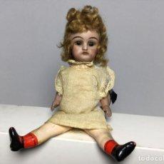 Bonecas Porcelana: MUÑECA PORCELANA ANTIGUA PEQUEÑA. Lote 233230570