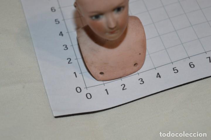 Muñecas Porcelana: ANTIGUA / Pequeña y preciosa CABEZA de MUÑECA - De Cerámica / Porcelana / Biscuit - ¡Mira fotos! - Foto 6 - 235159235