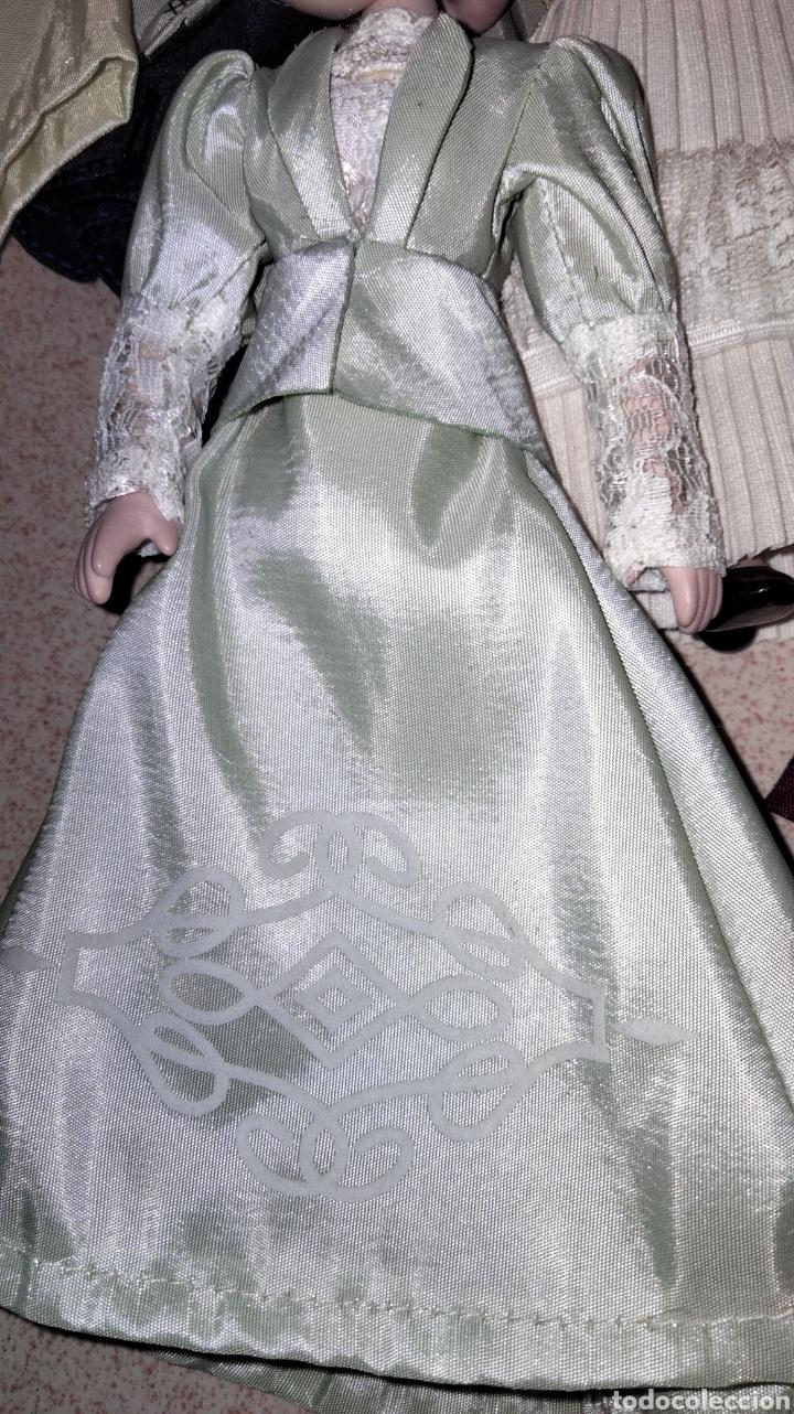 Muñecas Porcelana: PRECIOSAS MUÑEQUITAS DE PORCELANAS CON TRAJES DE EPOCAS - Foto 12 - 236977395