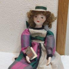 Muñecas Porcelana: MUÑECA DE PORCELANA ESPAÑOLA FANAS ARTESANOS. Lote 236996775