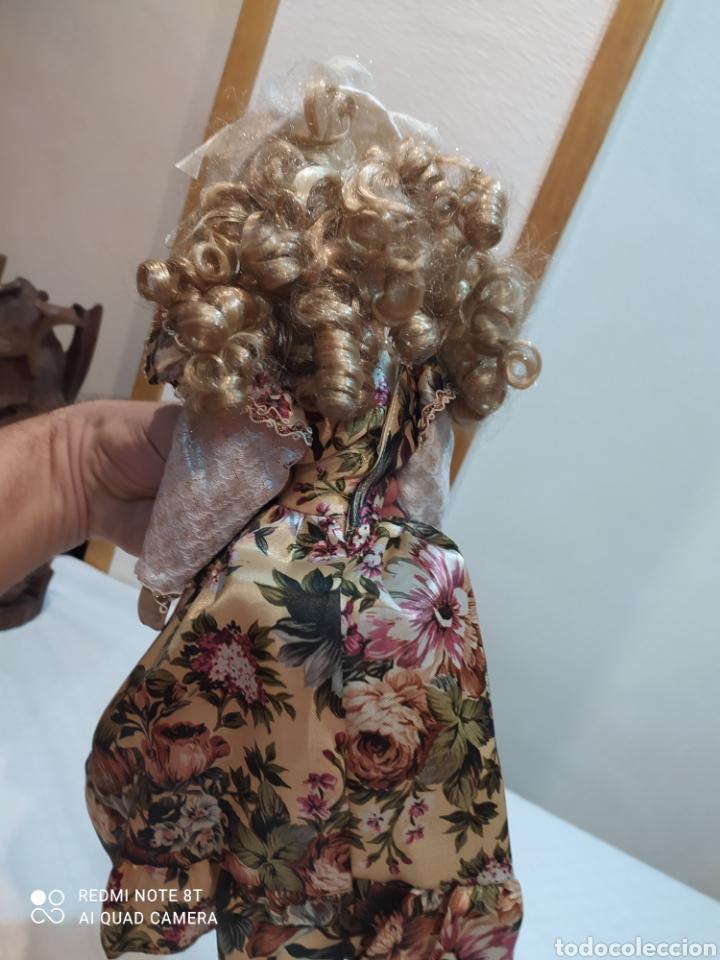 Muñecas Porcelana: Preciosa muñeca de porcelana vestido de época - Foto 7 - 237000725