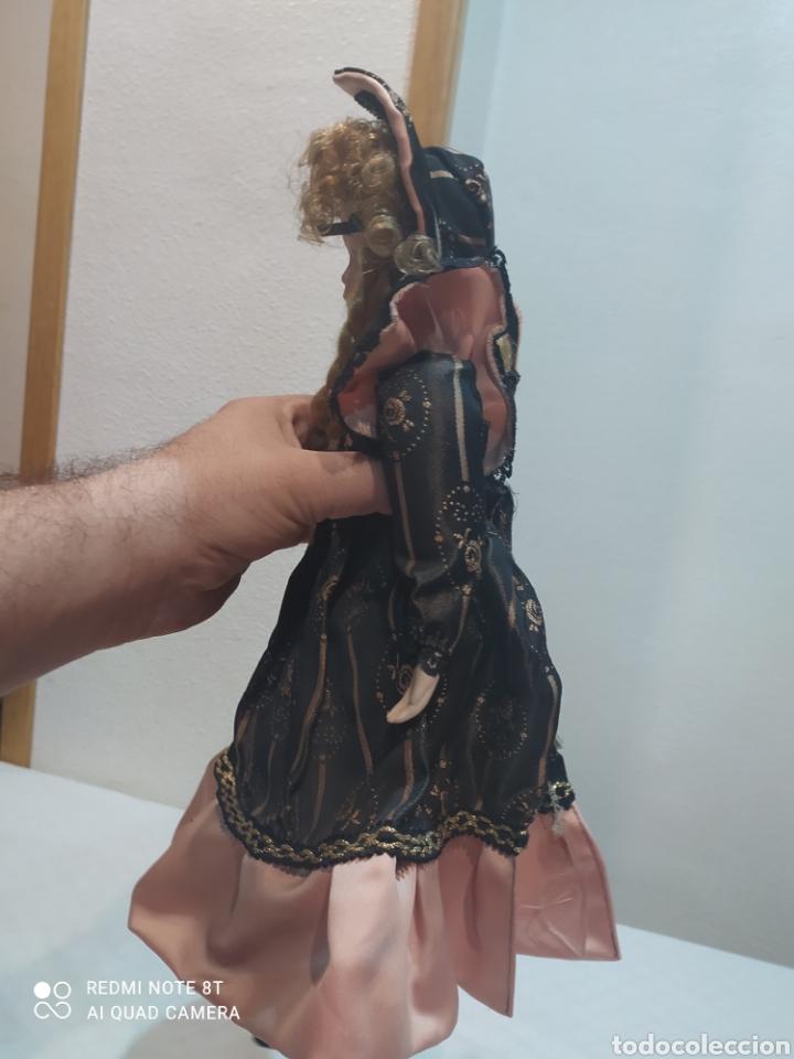 Muñecas Porcelana: Bonita muñeca de porcelana con vestido de época - Foto 5 - 237002085