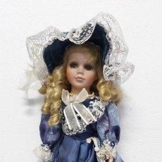 Muñecas Porcelana: MUÑECA DE PORCELANA NJSF. Lote 237662655