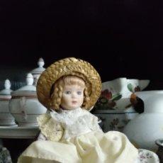 Muñecas Porcelana: MUÑECA DE PORCELANA ANTIGUA. Lote 237864740