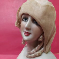 Bonecas Porcelana: BUSTO MODERNISTA DE BISCUIT.. Lote 239388765