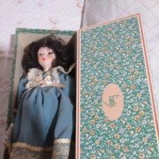 Muñecas Porcelana: MUÑECA PORCELANA FANAS 30 CM ENCAJA. Lote 239467880