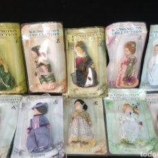 Muñecas Porcelana: 10 MUÑECAS COLECCION KENSIGTON. Lote 240715905