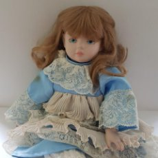 Muñecas Porcelana: MUÑECA ANTIGUA. Lote 241700690