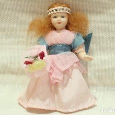 Muñecas Porcelana: MUÑECA DE PORCELANA Y BISQUIT LOTE 3. Lote 241768340